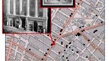 Appleton & Co. Bookstore, on 1850 map of NYC bookstores